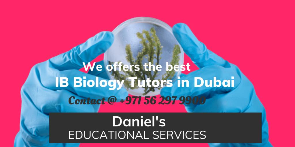 IB Biology Tutors in Dubai