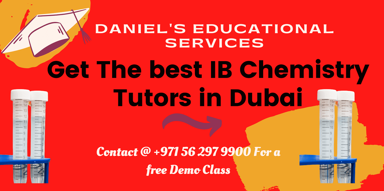 IB Chemistry Tutors in Dubai